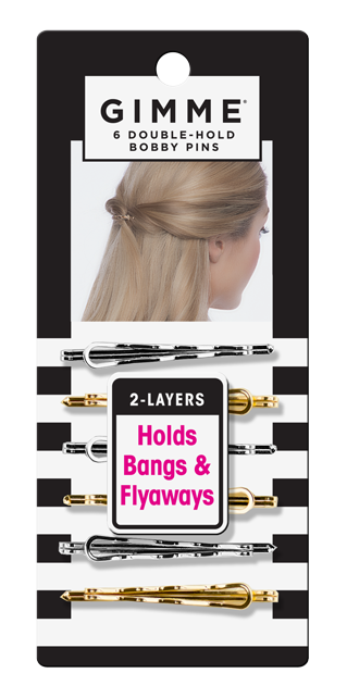 Spin clip bobby pin. Gimme hair accessories tools
