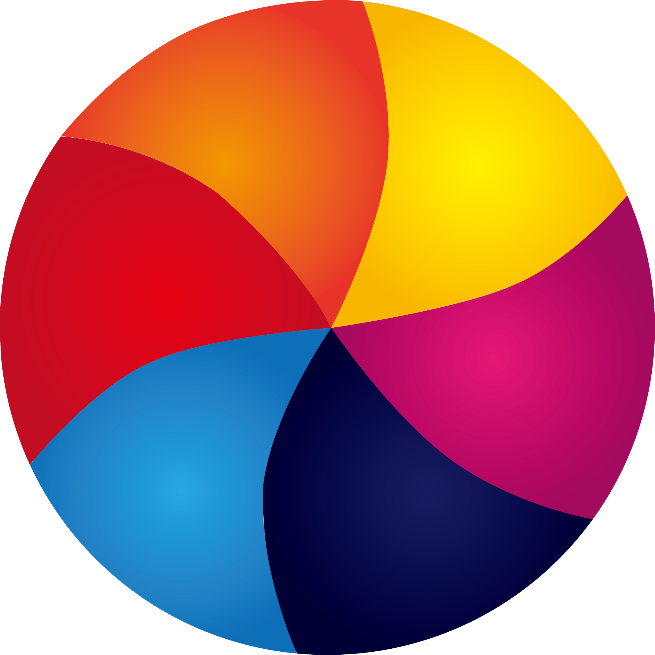 Spin vector circle frame. Spinning colorful transprent png