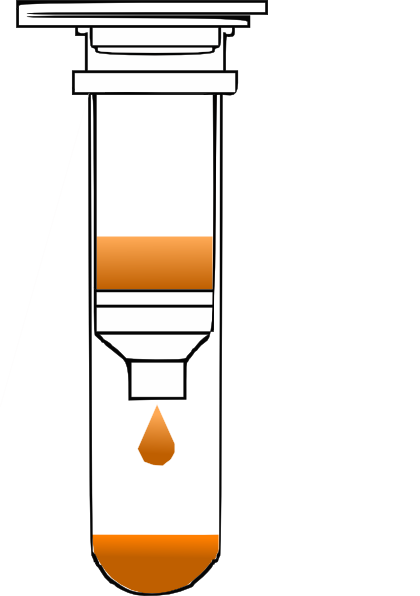 Spin vector clipart. Column closed with solution