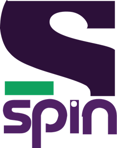Spin vector logo. Svg free download