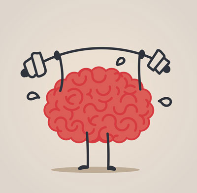 Spine clipart brain. Studies link exercise and