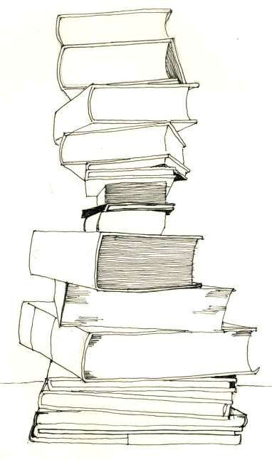 Spine clipart drawn. Drawing bookstack pinterest book