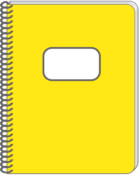 Spiral clipart diary. Journal free bound notebook