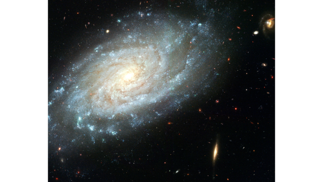 Spiral galaxy png. Hubblesite image ngc