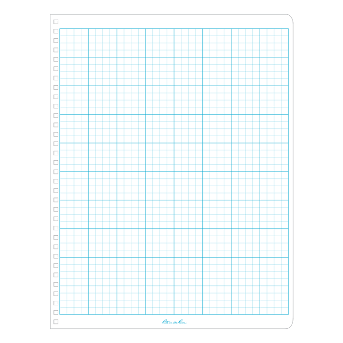 Spiral notebook page png. Rite in the rain