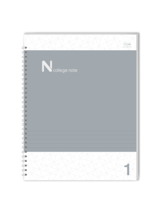 Spiral notebook page png. Pack n college