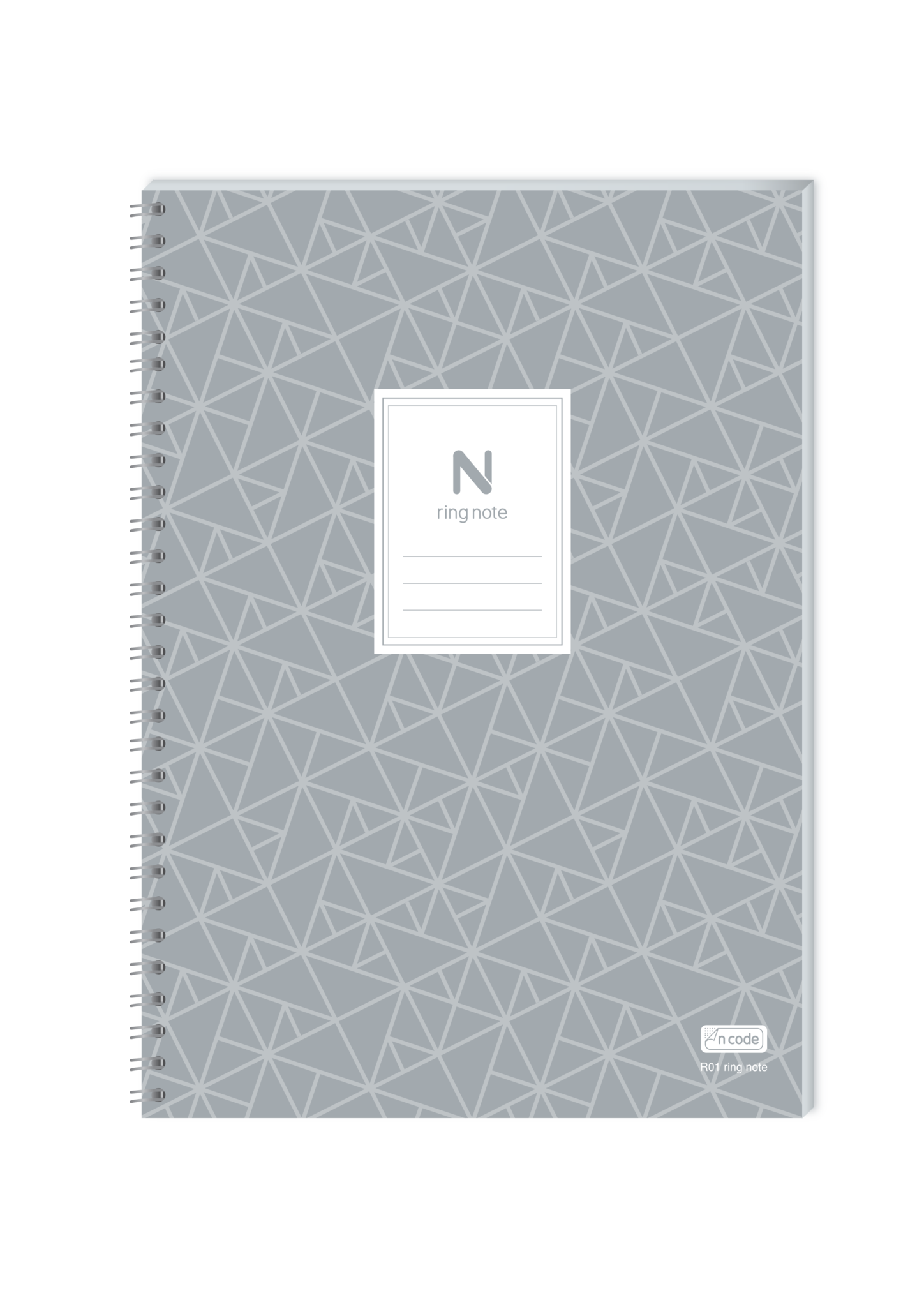 Spiral notebook page png. Pack n ring