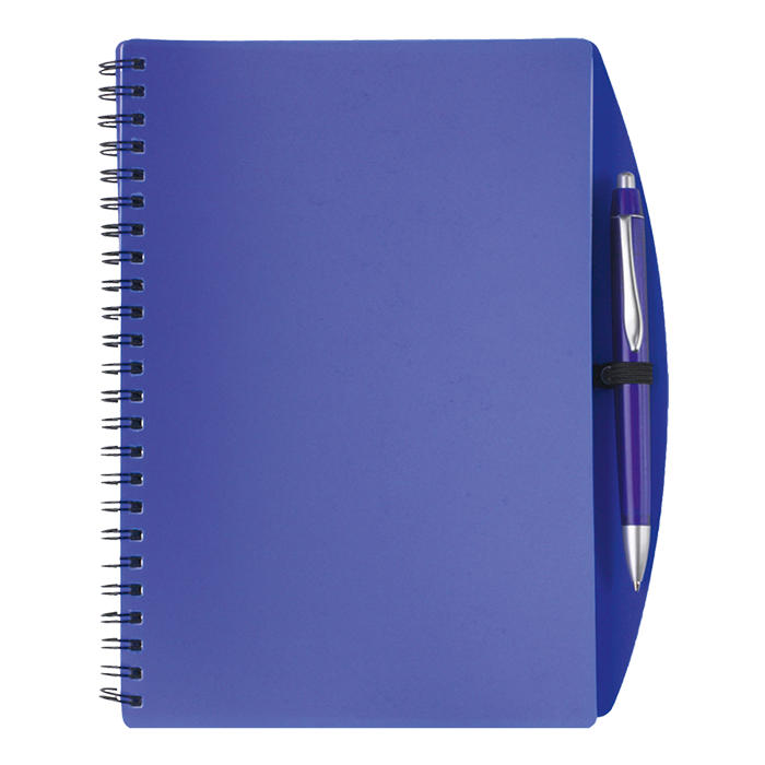 Spiral notebooks png. A notebook and pen
