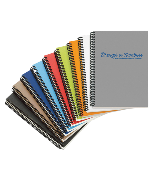 Spiral notebooks png. Coil ethical purchasing network
