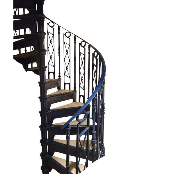 Spiral staircase png. For sale original blue