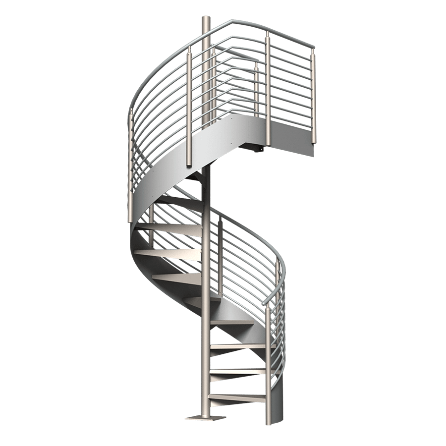 Spiral stairs png. Classic stair kit erectastep