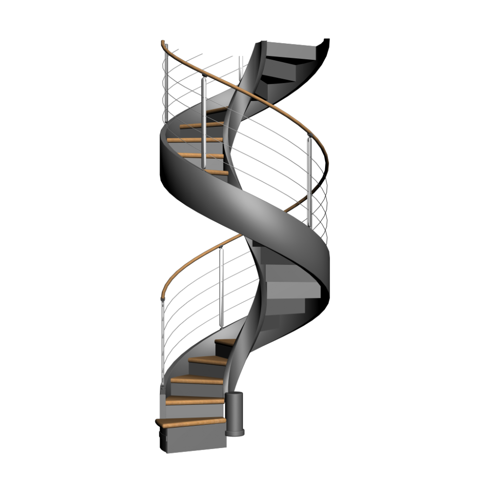 Spiral stairs png. Staircase design and decorate