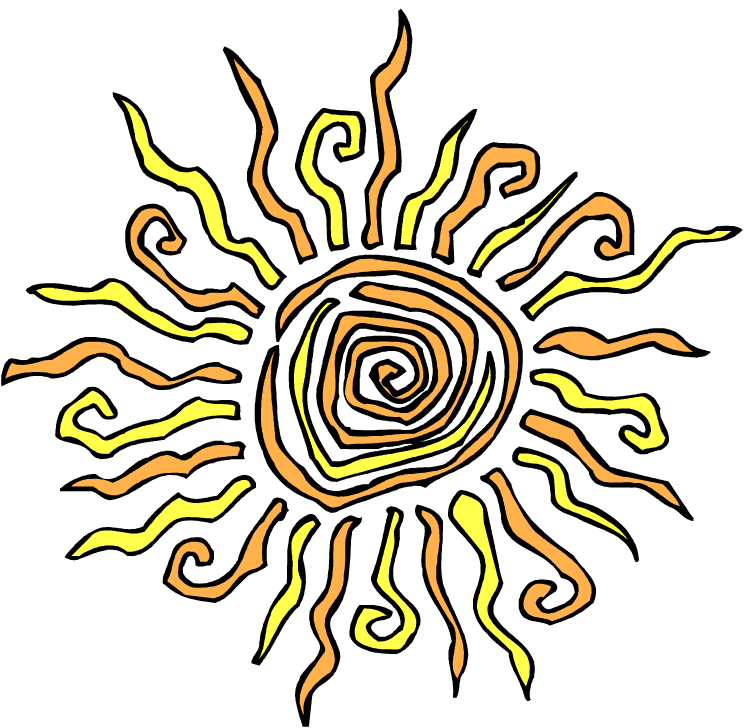 Spiral sun png. Days of being