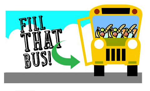 Spirit clipart elementary school. Fill that bus wear