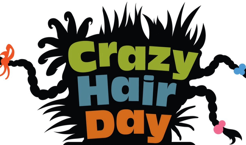 Spirit clipart elementary school. Heritage day crazy hair