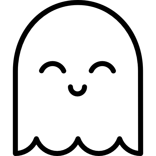 Cute ghost png. Spirit icon page