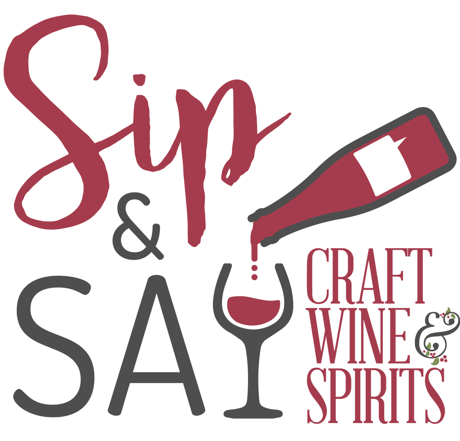 Spirit clipart wine spirit. Sip say craft spirits