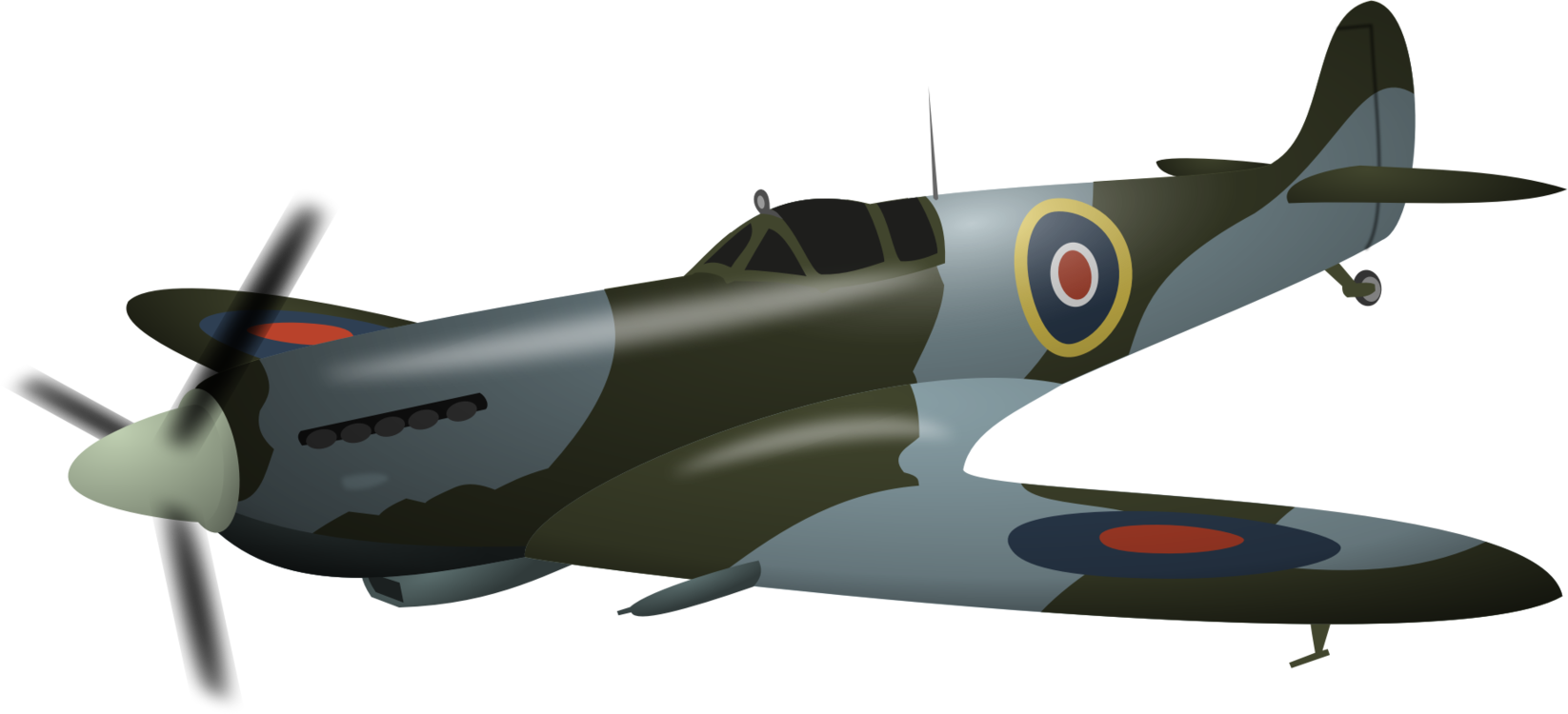 Fighter Drawing World War 2 Transparent Png Clipart Free Download