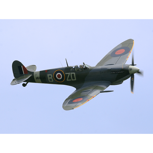 Spitfire drawing. Mk ix xvi warbirds
