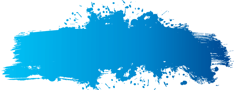 Blue splatter png. Transparent images watercolor stain