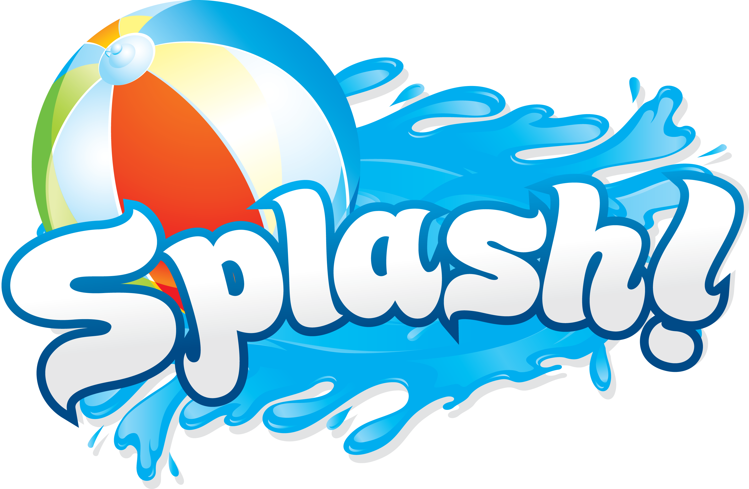 Splash clipart summer bash. Water silhouette at getdrawings