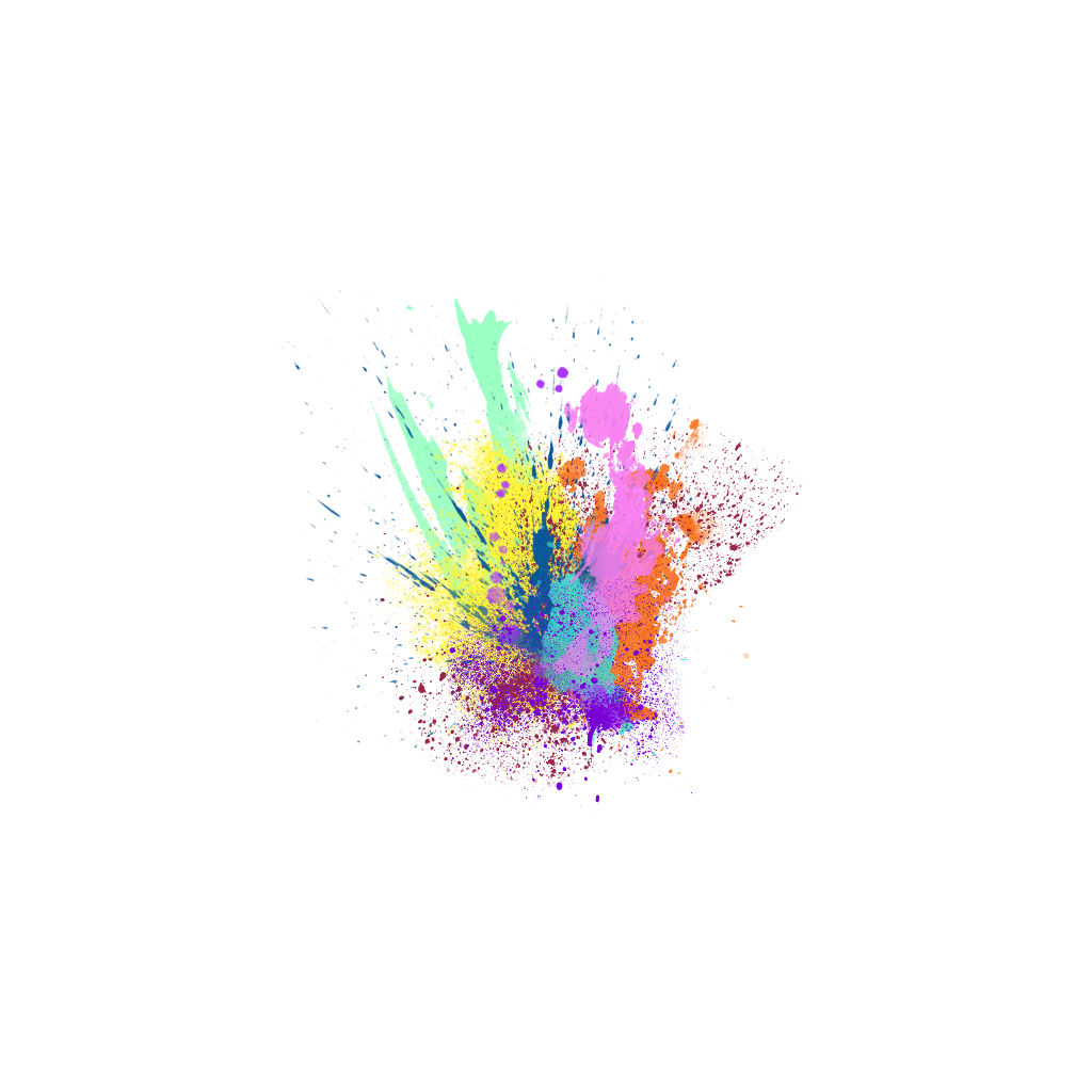 Splash color png. Magic smoke colour burst