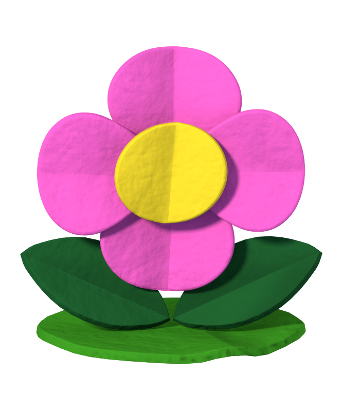 Splash color png. Image paper mario flower