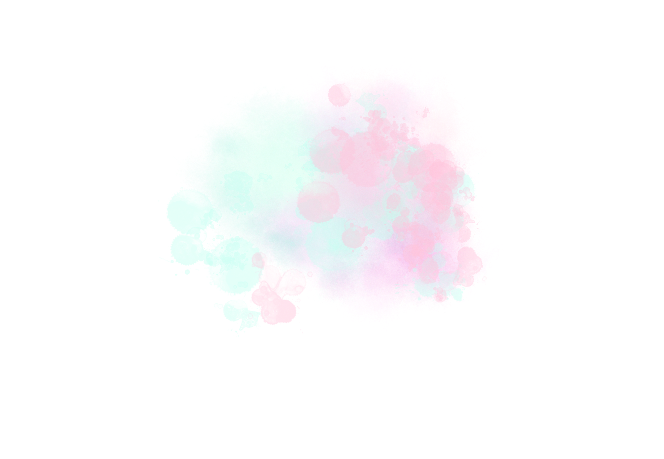 Splat transparent pastel. Vibes watercolor texture png