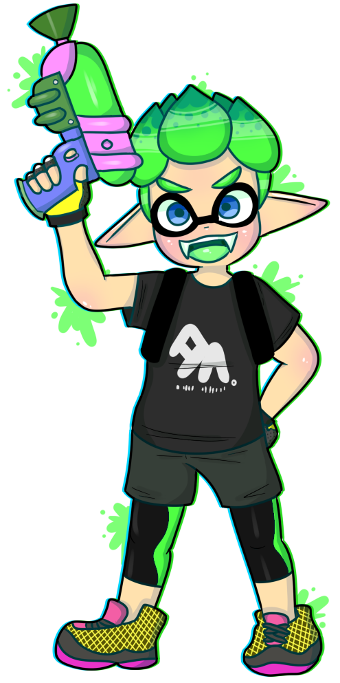 Splatoon 2 inkling png. Boy by toggetic on