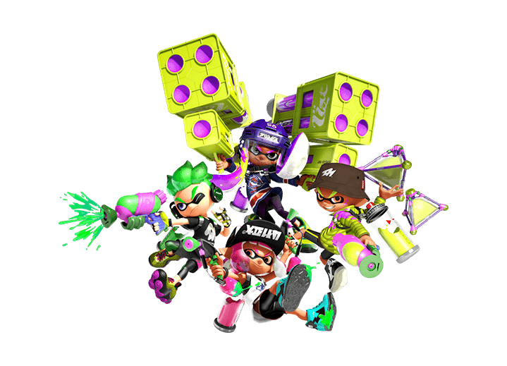 Splatoon 2 inkling png. And arms tournaments at