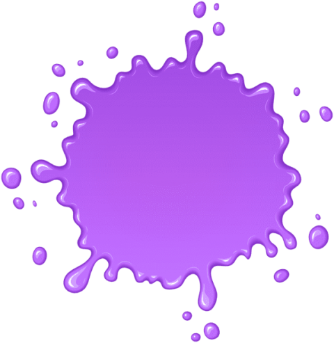 Purple paint splatter png. Transparent free images toppng
