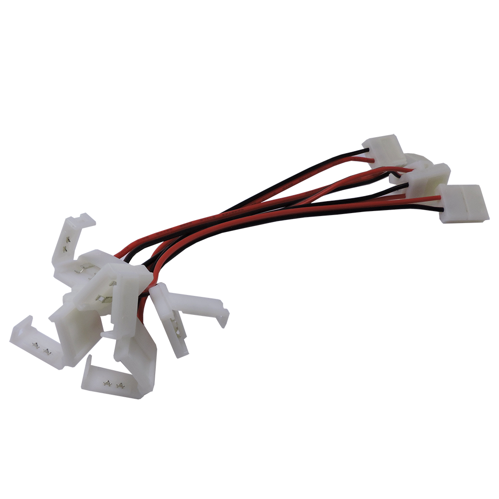 Splice clip wire connector. Connectors led lighting demasled