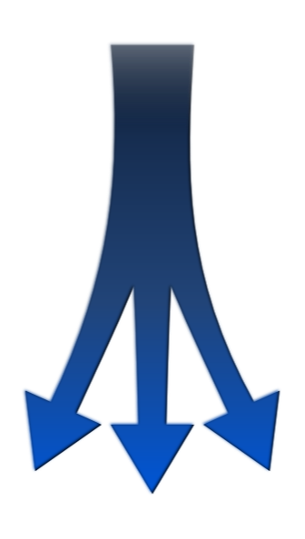 Split arrow png. Arrows clip art at