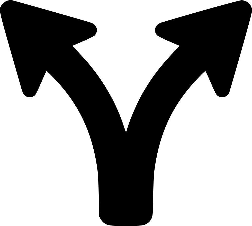 split arrow png