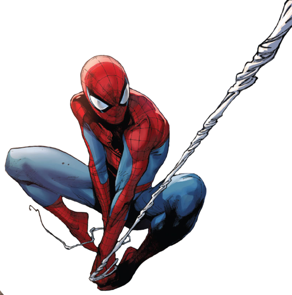 Spoderman transparent png. Who would win in