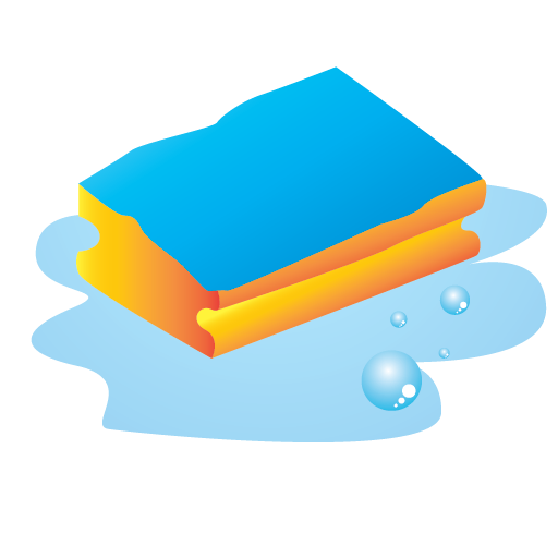 Sponge clipart janitor. Cleaning icon