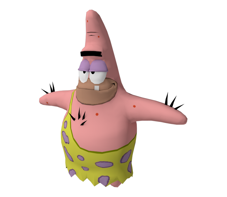 Spongebob caveman png. Gamecube the squarepants movie