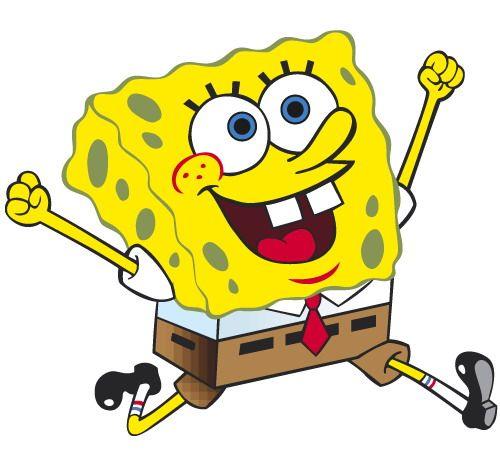 Spongebob clipart. Clip art printables for