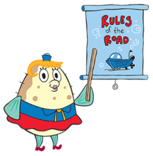 Spongebob clipart toxin. Mrs puff wikivisually pointing
