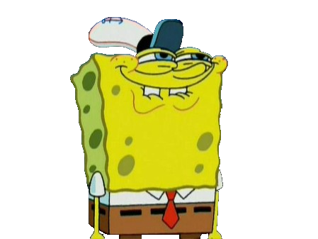 Spongebob face png. Image ylkpdy transpanent by