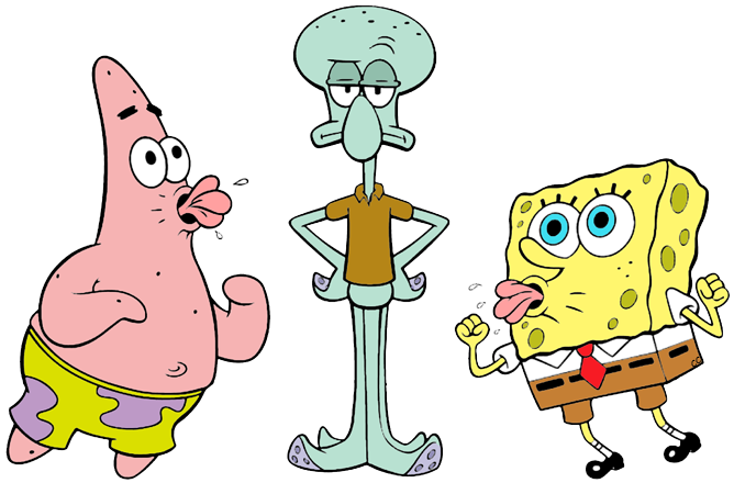 Squidward png. Spongebob squarepants clip art