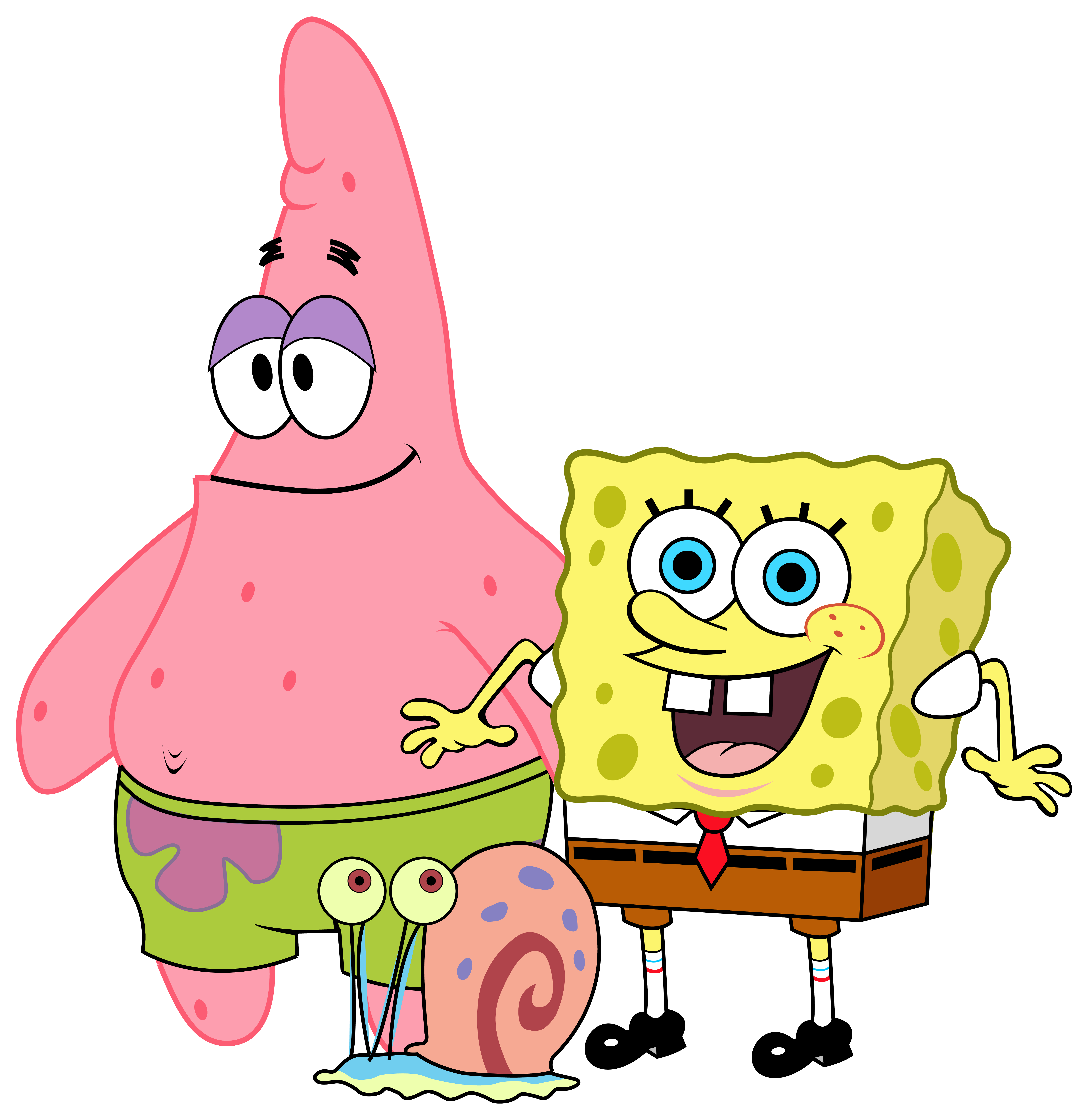 Spongebob patrick png. And friends clipart image