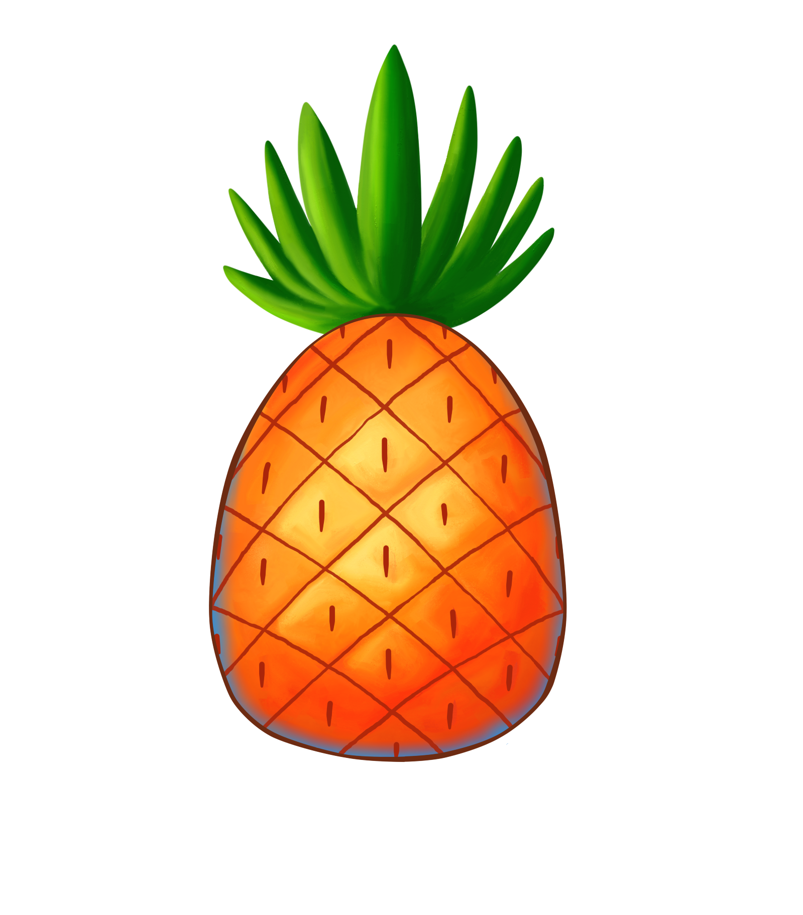 Spongebob pineapple png. Tumblr collage stickers ourimgs