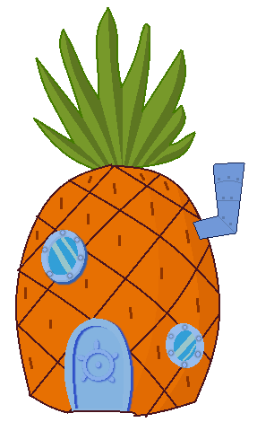 Spongebob pineapple png. Collection of clipart