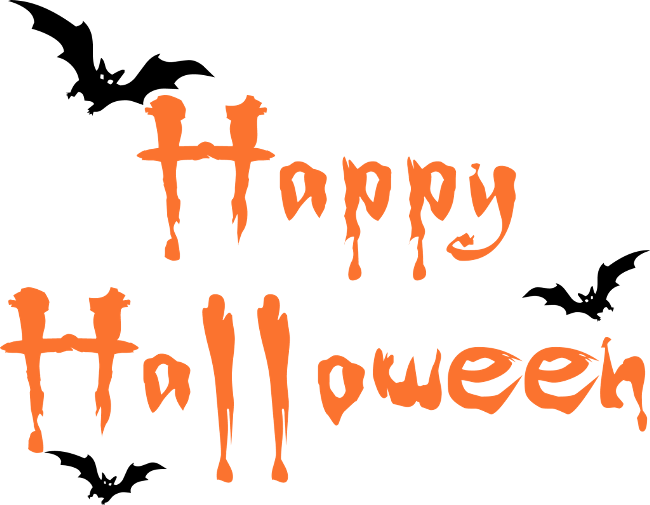 Spooky clipart birthday halloween. Happy pictures that are