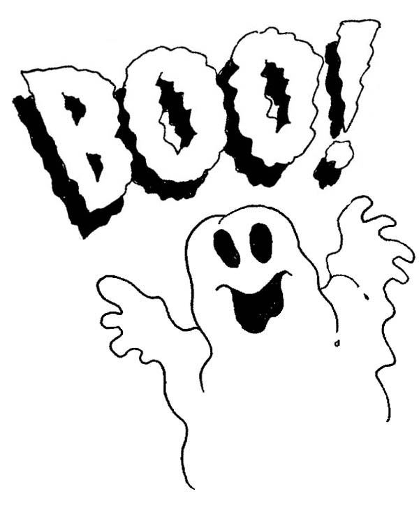 Spooky clipart cool. Boo pencil and in