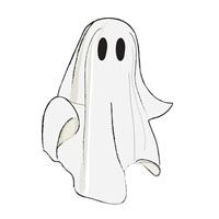 Spooky clipart ghost. Best halloween clip