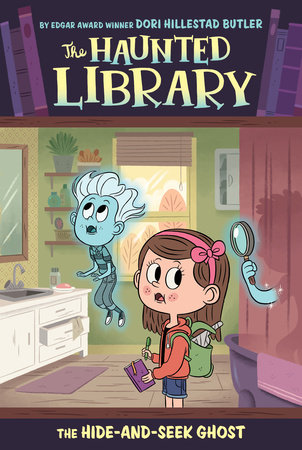 Spooky clipart haunted library. The hideandseek ghost