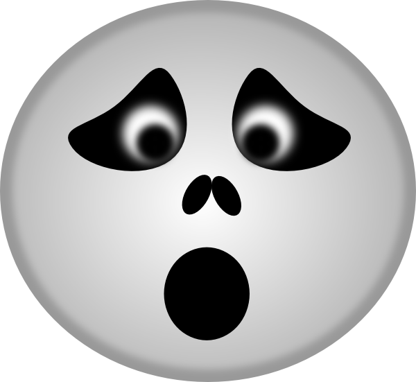 Spooky clipart mouth. Ghost clip art at