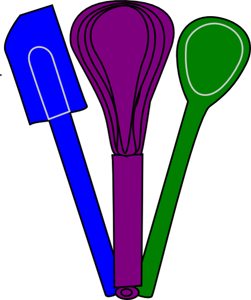 Spoon clipart whisk. Spatula
